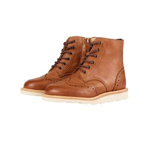 NEW! Young Soles Leather Sidney Brogue Boot sz 11